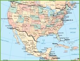 USA Maps Maps Of United States Of America USA US - Give me the map of the united states