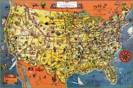 USA Maps Maps of United States of America USA US
