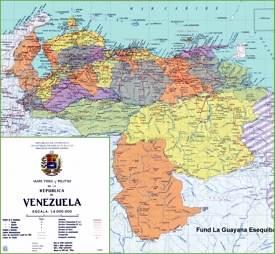 Venezuela road map