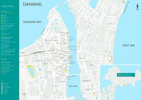 Da Nang tourist map