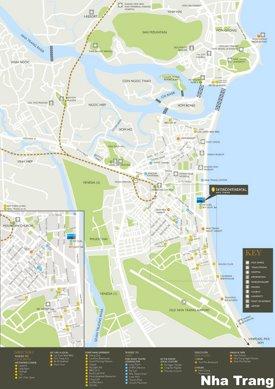 Nha Trang tourist map