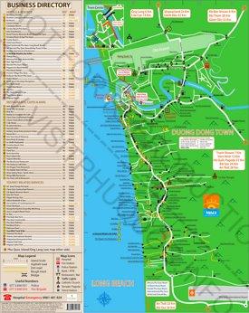 Phu Quoc Maps | Vietnam | Maps of Phu Quoc Island