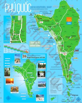 Phu Quoc hotel map