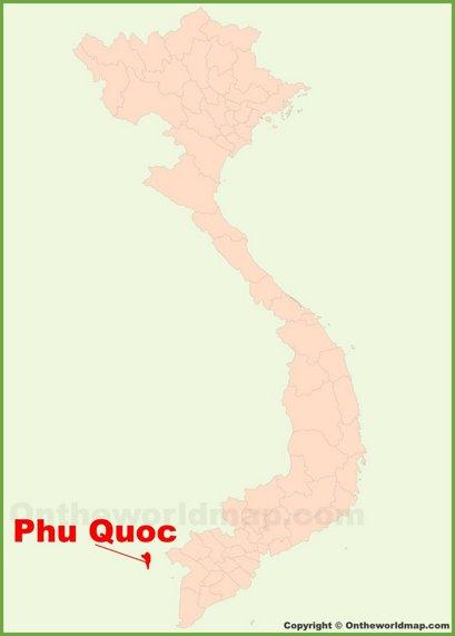 Phu Quoc Location Map
