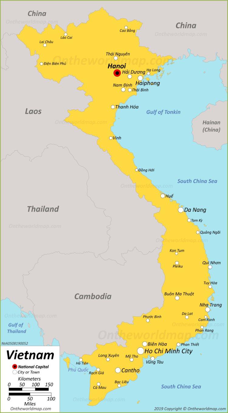 Picture of: Vietnam Maps Maps Of Vietnam
