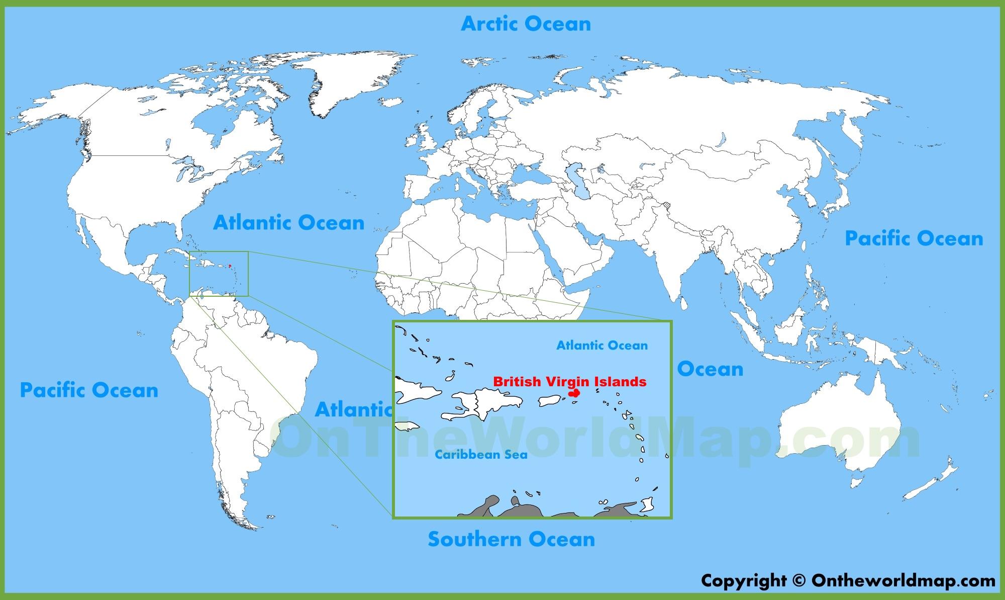 British Virgin Islands Map British Virgin Islands Maps | Maps of British Virgin Islands (BVI) British Virgin Islands Map