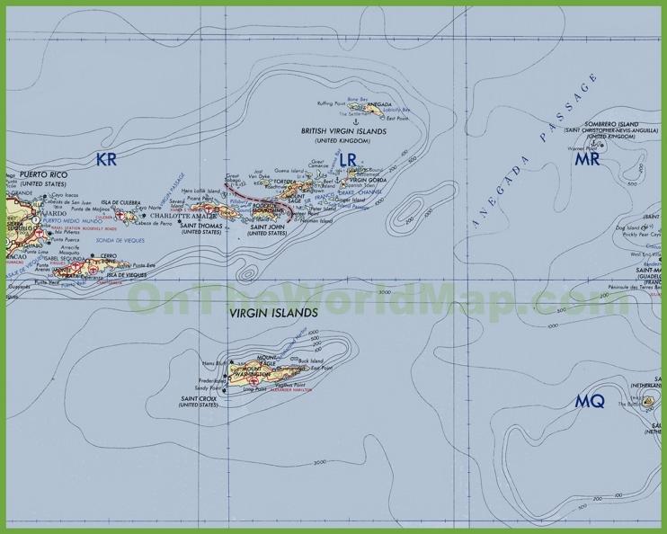 British Virgin Islands Maps Maps of British Virgin Islands BVI