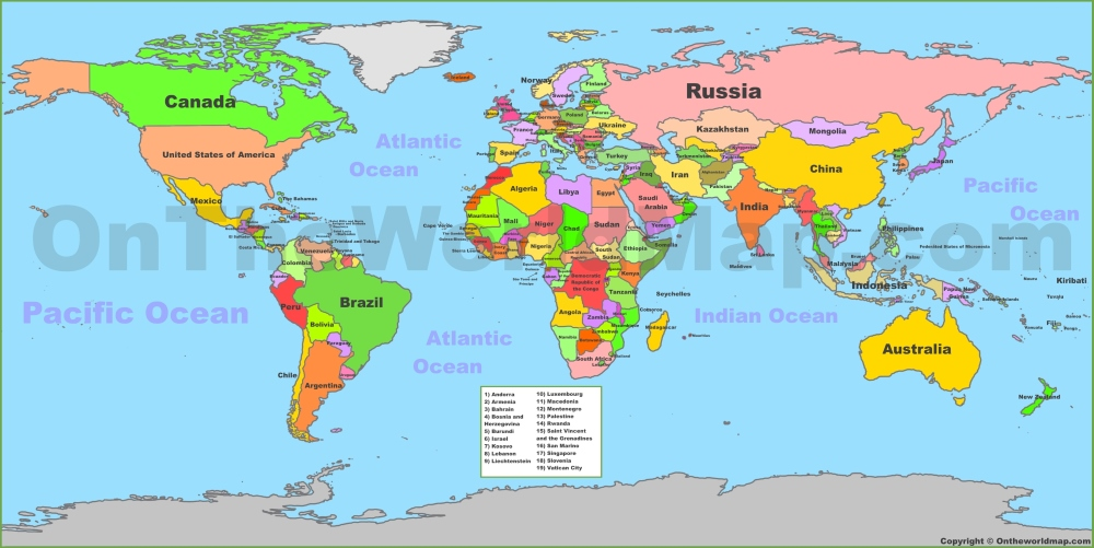 World Map Cities World Maps | Maps of all countries, cities and regions of The World World Map Cities