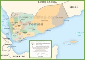 Yemen Maps | Maps of Yemen